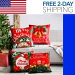 christmas pillow covers 18x18