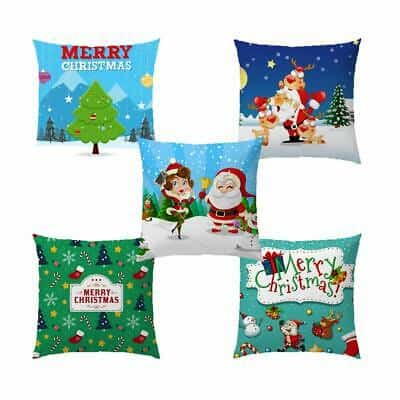 christmas pillow covers 16x16