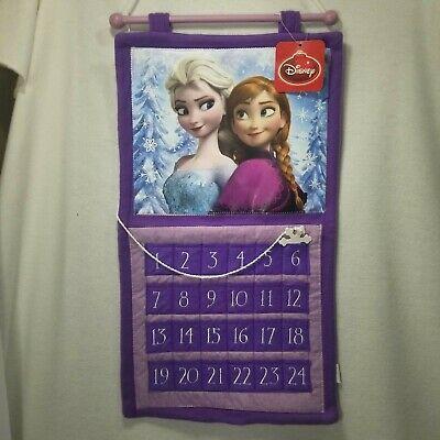 Disney Frozen Sisters Advent Calendar Xmas Countdown Anna Elsa Holiday NEW