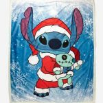Disney Christmas Fleece Blanket