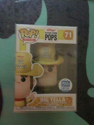 Funko Pop Ad Icon Kellogg's Big Yella Funko Limited Edition with Protector