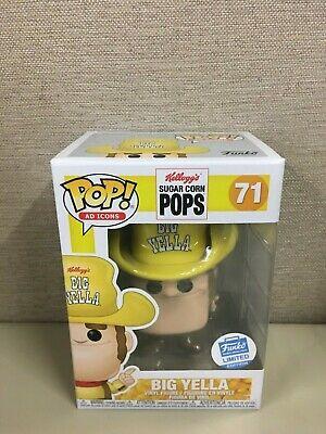 Funko Pop! Ad Icons: Kellogg's Sugar Corn Pops - Big Yella #71 Funko Shop NIB