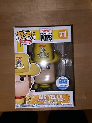 Funko Pop Big Yella #71 A Icons Funko Shop Exclusive w protector