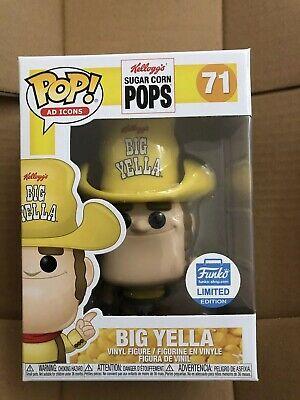 Funko Pop! Kellogg's Sugar Corn Pops Big Yella #71 LE New In Box Funko Shop Exc