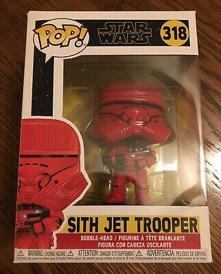 Funko Pop! Star Wars: Episode 9 - Rise of Skywalker - Sith Jet Trooper 318