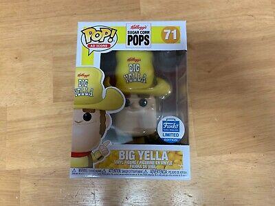 Funko Pop Up Shop Kellogg's Pops Big Yella