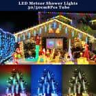 christmas icicle lights led