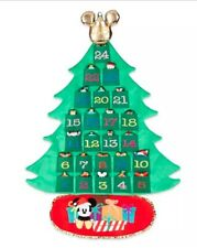 New Disney Store Mickey Mouse and Friends Plush Advent Calendar Wall Hanging