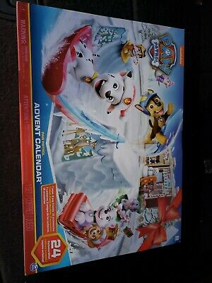 Nickelodeon Paw Patrol 2019 Advent Calendar 24 days 24 Collectible Toys