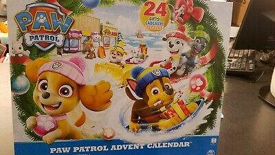 Paw Patrol Advent Calendar Brand NEW 24 Gifts