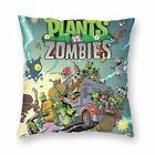 Plants vs. Zombies Pillow Case Cover Mat Bed Sofa Waist Mat Xmas Home Decor Gift