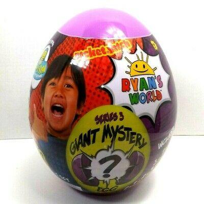 Ryan's World Series 3 Giant Egg Mystery Surprise Purple