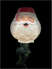 Santa Lamp Post Light Cover For Outdoor Christmas Decoration