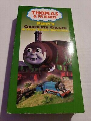 Thomas & Friends - Percys Chocolate Crunch - Alec Baldwin - VHS 2003