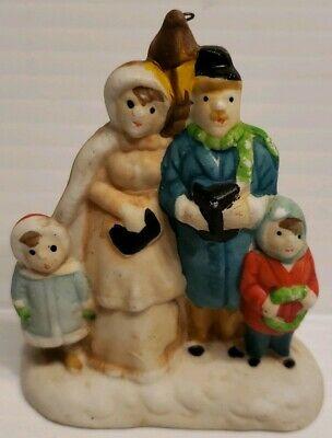 VINTAGE CHRISTMAS ORNAMENT~THE FAMILY CAROLS~Lamp post~ B37