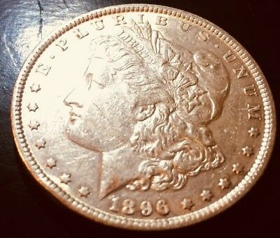 "1896 ""P"" MORGAN ""SILVER"" DOLLAR- Duryea Motor Co.made 1st auto for public sale."