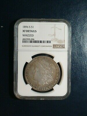 1896 S Morgan Silver Dollar NGC XF Details $1 Coin PRICED FOR QUICK SALE!