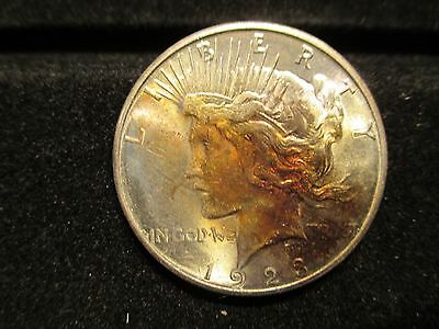1923 S PEACE DOLLAR TONED BU +++ PRICED REDUCED FOR FAST SALE FREE SHIPPING