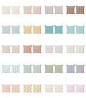 Ambesonne Pastel Design Cushion Cover Set of 2 for Couch and Bed in 4 Sizes