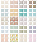 Ambesonne Pastel Design Cushion Cover Set of 4 for Couch and Bed in 4 Sizes