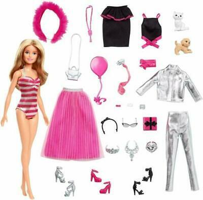 Barbie Advent Calendar Aldis Barbie Doll and Accessories 2019 NEW 24 days