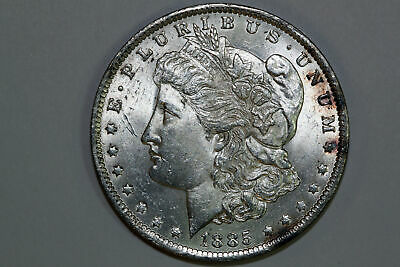 For Sale Grades Mint State1885 New Orleans Mint Morgan Silver Dollar (MDX2592)