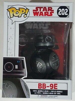 Funko POP BB-9E #202 Star Wars Episode 8 TLJ The Last Jedi Vinyl Figure