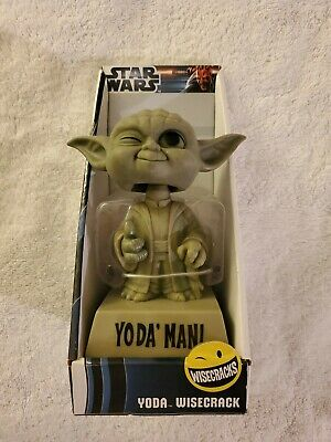 Funko Star Wars Yoda Wisecrack Bobblehead New In Box