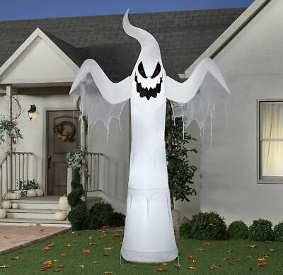 Halloween Giant Spooky Ghost Inflatable Airblown 12' Yard Decor