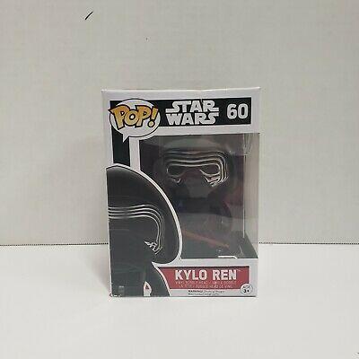 Kylo Ren Star Wars Force Awakens Funko Pop! Vinyl Figure #60