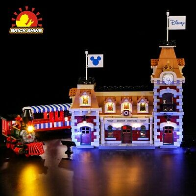 LED Light Kit for LEGO Disney Train and Station 71044(100% Rating Seller)