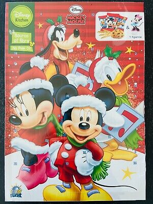 MICKEY MOUSE & Friends Cookie ADVENT Calendar Christmas countdown FREE SHIP