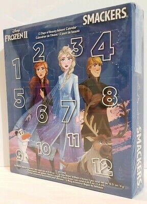 New Disney Frozen II Lip Smackers 12 Days Of Beauty Advent Calendar Gift Prize