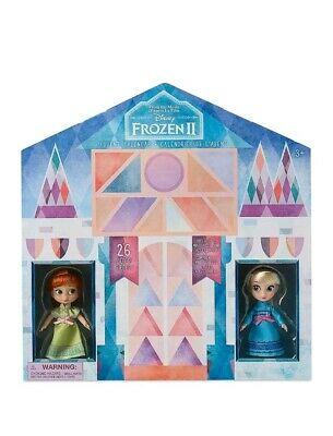 New Disney Store Frozen 2 Advent Calendar Christmas Holiday Elsa Anna Animators