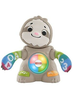 NEW Fisher-Price Linkimals Smooth Moves Sloth-Interactive Educational Toy