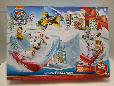 NEW Nickelodeon Paw Patrol Advent Calendar, Unopened