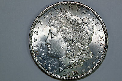 Now For Sale Grades Mint State Blast White 1879-P Morgan Silver Dollar (MDX2589)