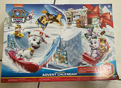 Paw Patrol Advent Calendar Christmas Countdown 24 Days Holiday Kids Toy