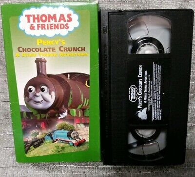 THOMAS the Tank & FRIENDS Percy's Chocolate Crunch & Other Thomas Adventures VHS