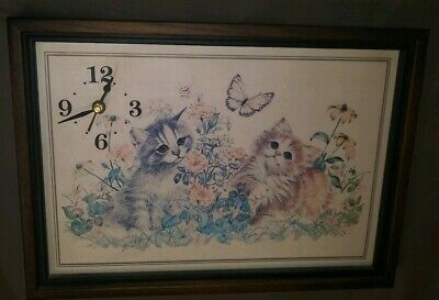 Vintage Cat Clocks