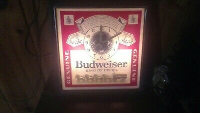 Vintage Lighted Beer Clocks