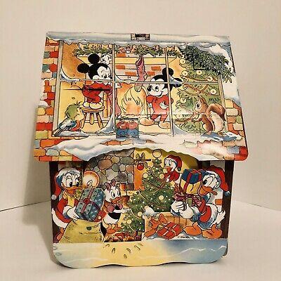 VTG Walt Disney Advent Calendar Pop-up House Mickey & Friends Christmas Denmark