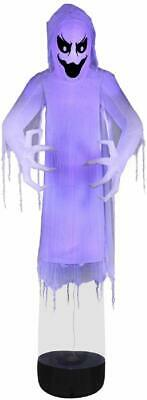 12' Giant Floating Black Light Short Circuit Ghost Halloween Inflatable