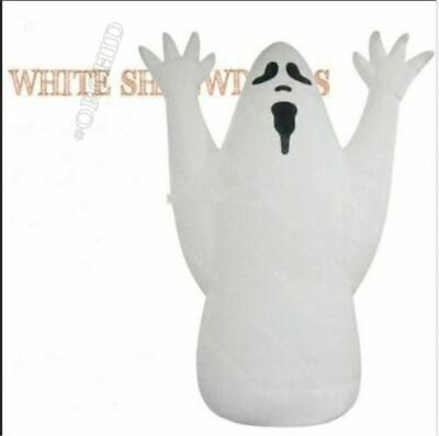 5M Airblown Giant Halloween Decoration Inflatable Halloween Ghost With Blower ix