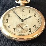 Elgin Pocket Watch Gold