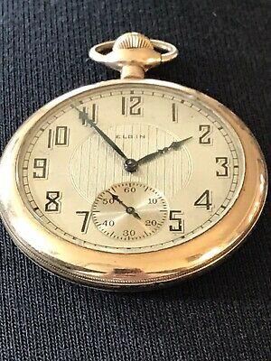 Elgin Pocket Watch Gold