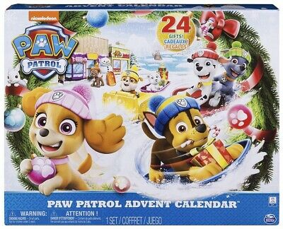 Brand New Paw Patrol Advent Calendar - 24 Toys
