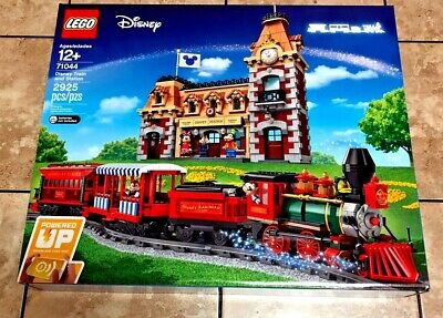 Disney Train And Station Brand New In Sealed Box - Lego 71044