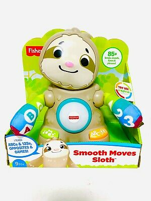 Fisher-Price Linkimals Smooth Moves Sloth with Music & Lights