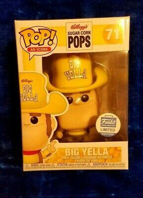 Funko Pop! Ad Icons Kellogg's Sugar Corn Pops Big Yella Funko Shop Exclusive